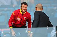 Fabio Lucioni Benevento in tribuna per la squalifica<br /> Benevento 01-10-2017  Stadio Ciro Vigorito<br /> Football Campionato Serie A 2017/2018. <br /> Benevento - Inter<br /> Foto Cesare Purini / Insidefoto