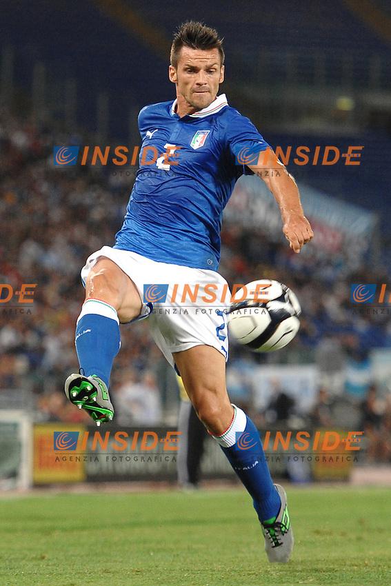 Christian Maggio (Italia)<br /> 14/08/2013 Stadio Olimpico, Roma<br /> Friendly match Italy vs Argentina<br /> Italia vs Argentina 1-2<br /> foto Antonietta Baldassarre / Insidefoto