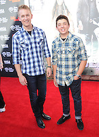 Jason Dolley and Bradley Steven Perry at The Disney World Premiere of The Lone Ranger held at at Disney California Adventure in Anaheim, California on June 22,2021                                                                   Copyright 2013 DVSIL / iPhotoLive.com
