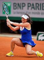 01-06-13, Tennis, France, Paris, Roland Garros,  Jie Zheng