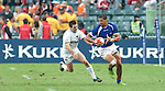 Action on Day 3 of the 2012 Cathay Pacific / HSBC Hong Kong Sevens at the Hong Kong Stadium in Hong Kong, China on 25th March 2012. Photo © Ricardo Ordonez  / The Power of Sport Images
