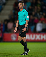 Referee Daniel Schlager during the International friendly match between England U20 and Netherlands U20 at New Bucks Head, Telford, England on 31 August 2017. Photo by Andy Rowland.