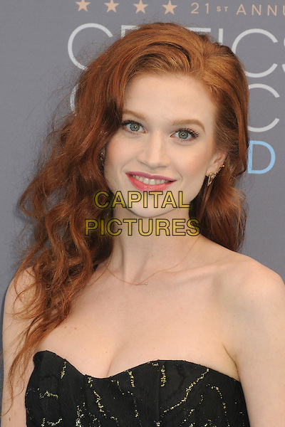 17 January 2016 - Santa Monica, California - Sarah Hay. 21st Annual Critics' Choice Awards - Arrivals held at Barker Hangar. <br /> CAP/ADM/BP<br /> &copy;BP/ADM/Capital Pictures