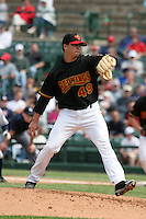 Rochester Red Wings Kyle Lohse during an International League game at Frontier Field on June 4, 2006 in Rochester, New York.  (Mike Janes/Four Seam Images)