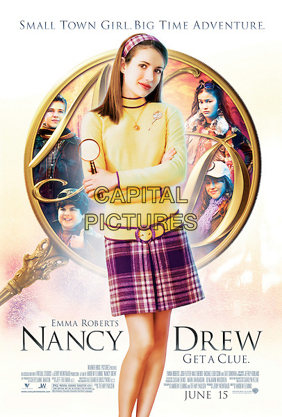 POSTER ART.in Nancy Drew (Nancy Drew: The Mystery in Hollywood Hills) .**Editorial Use Only**.CAP/FB.Supplied by Capital Pictures