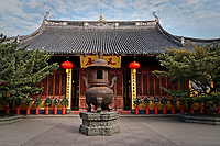 Longhua Temple in Shanghai, China