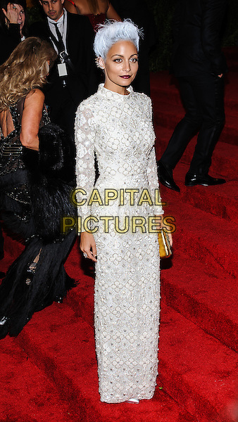 Nicole Richie.'PUNK: Chaos To Couture' Costume Institute Gala at the Metropolitan Museum of Art, New York, USA  6th May 2013.CAP/ADM/CS.©Christopher Smith/AdMedia/Capital Pictures