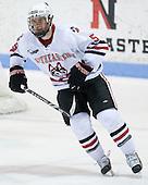 Jake Newton (NU - 5) - The Northeastern University Huskies defeated the Boston College Eagles 3-2 on Friday, February 19, 2010, at Matthews Arena in Boston, Massachusetts.