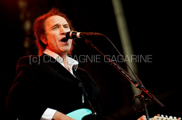 English rock musician Ray Davies at the Lokerse Feesten festival in Lokeren (Belgium, 09/08/2009)