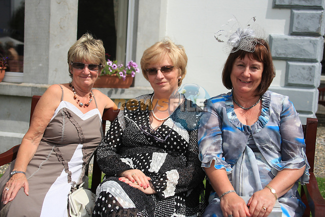 celebrations in An Grainan..Ann Fahey, Mary McMahon and Catherine O'Reilly.Picture: Fran Caffrey/ www.newsfile.ie.
