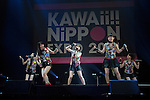 "Tokyo, Japan - The idol group Babyraids performs at ""Kawaii!! Nippon Expo 2014"" in the International Convention Complex Makuhari Messe on May 10, 2014. Several famous Idols such as Tomomi Itano, Kyary Pamyu Pamyu and Harayuku models attend the Kawaii!! Nippon Expo 2014 (Photo by Rodrigo Reyes Marin/AFLO)"