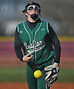 Anna Butler #15, Seaford pitcher, delivers to the plate in the bottom of the fourth inning of a Nassau County varsity softball game against Plainedge at Schwarting Elementary School in Massapequa on Friday, April 6, 2018. Seaford won by a score of 9-2.