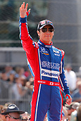 May 28th Indianapolis Speedway, Indiana, USA;  Indycar driver Takuma Sato (26) of Andretti Autosport waves to the crowd during driver introductions at the 101st running of the Indianapolis 500 on May 28, 2017, at the Indianapolis Motor Speedway in Indianapolis, Indiana.