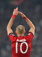 FUSSBALL CHAMPIONS LEAGUE  SAISON 2015/2016 ACHTELFINAL HINSPIEL Juventus Turin - FC Bayern Muenchen             23.02.2016 Arjen Robben (FC Bayern Muenchen)