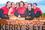 "Pictured at the launch of "" The Cascade"" on the Fossa lake shore on Thursday evening were Mary Leahy, Deirdre Cronin, Elaine O'Sullivan, Diane Breen, Marion Murphy, Ciara O'Donoghue and Tina Healy, Fossa Rowing Club......."