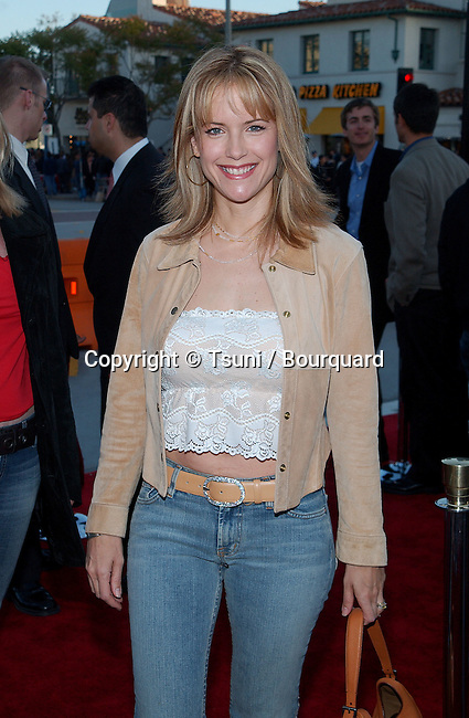 Kelly Preston arrive for the premiere of 'Spider Man' at the Mann Village in Westwood, Los Angeles. April 29, 2002.           -            PrestonKelly01A.jpg