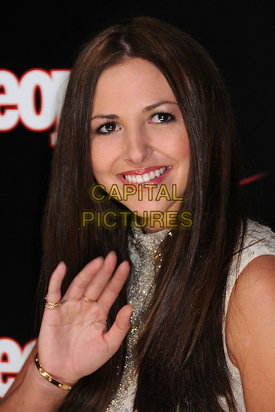 ALI SIMS.Verizon Wireless & People Magazine's Pre Grammy Awards Party at Avalon, Hollywood, California, USA,.8 February 2008..portrait headshot hand waving Ally Simms.CAP/ADM/BP.?Byron Purvis/Capital PIctures