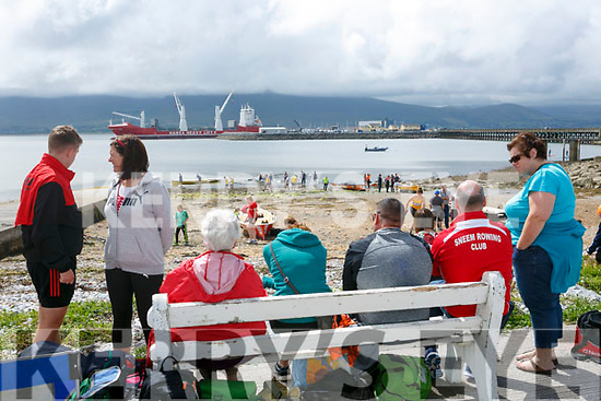 Enjoying the Fenit Regatta on Sunday