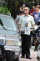MIAMI BEACH , FL - MAY 15:  Tony Plana on the movie set of Pain & Gain on May 15, 2012 in Miami Beach, Florida. ©mpi04/MediaPunch Inc.