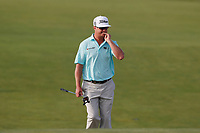 Charley Hoffman (USA) walks the 17th hole during the second round of the 118th U.S. Open Championship at Shinnecock Hills Golf Club in Southampton, NY, USA. 15th June 2018.<br /> Picture: Golffile | Brian Spurlock<br /> <br /> <br /> All photo usage must carry mandatory copyright credit (&copy; Golffile | Brian Spurlock)
