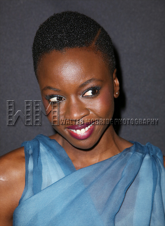 Danai Gurira attends the 'Eclipsed' broadway opening night after party at Gotham Hall on March 6, 2016 in New York City.