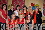 1.PARTY: Enjoying themselves at their Christmas party were members of Beru in The Imperial Hotel, Tralee on Friday night. Front l-r: Marylin Roche, Nicola Mullins and Linda Nolan. Back l-r: Patsy Clifford, Maureen O'Sullivan, Denise O'Sullivan, Helen Dowling, Margo Rogers and Martina Brosnan. .....   Copyright Kerry's Eye 2008