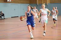 Fast-Break von Melissa Kolb (Weiterstadt) gegen Landwehr (Bamberg)