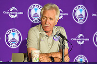 Orlando, FL - Sunday June 26, 2016: Tom Sermanni  after a regular season National Women's Soccer League (NWSL) match between the Orlando Pride and the Portland Thorns FC at Camping World Stadium.