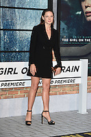 Rebecca Ferguson<br /> at the premiere of &quot;The Girl on the Train&quot;, Odeon Leicester Square, London.<br /> <br /> <br /> &copy;Ash Knotek  D3156  20/09/2016