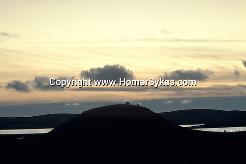 Maes Howe, Near Stromness, Orkney  Scotland. Highlands and Islands