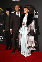 BEVERLY HILLS, CA - NOVEMBER 5: Common, Andra Day, at The 21st Annual Hollywood Film Awards at the The Beverly Hilton Hotel in Beverly Hills, California on November 5, 2017. Credit: Faye Sadou/MediaPunch