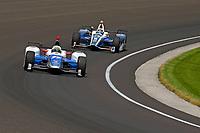 Verizon IndyCar Series<br /> Indianapolis 500 Carb Day<br /> Indianapolis Motor Speedway, Indianapolis, IN USA<br /> Friday 26 May 2017<br /> Jay Howard, Schmidt Peterson Motorsports Honda, Max Chilton, Chip Ganassi Racing Teams Honda<br /> World Copyright: F. Peirce Williams