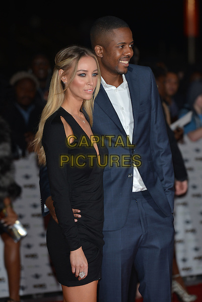 LONDON, ENGLAND - OCTOBER 22: Lauren Pope, Vas J Morgan attends the MOBO Awards at SSE Arena on October 22, 2014 in London, England. <br /> CAP/PL<br /> &copy;Phil Loftus/Capital Pictures