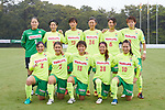 JEF United Ichihara Chiba Ladies team group line-up, <br /> SEPTEMBER 17, 2017 - Football / Soccer : <br /> 2017 Plenus Nadeshiko League Division 1 match <br /> between JEF United Ichihara Chiba Ladies 0-1 NTV Beleza <br /> at Frontier Soccer Field in Chiba, Japan. <br /> (Photo by AFLO SPORT)