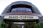 The brand-spanking new Fasig-Tipton Sales Pavilion.
