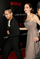 www.acepixs.com<br /> <br /> September 14 2017, New York City<br /> <br /> Director Angelina Jolie and Maddox Jolie-Pitt arriving at a screening of 'First They Killed My Father' at the DGA theatre on September 14, 2017 in New York City.<br /> <br /> By Line: Nancy Rivera/ACE Pictures<br /> <br /> <br /> ACE Pictures Inc<br /> Tel: 6467670430<br /> Email: info@acepixs.com<br /> www.acepixs.com