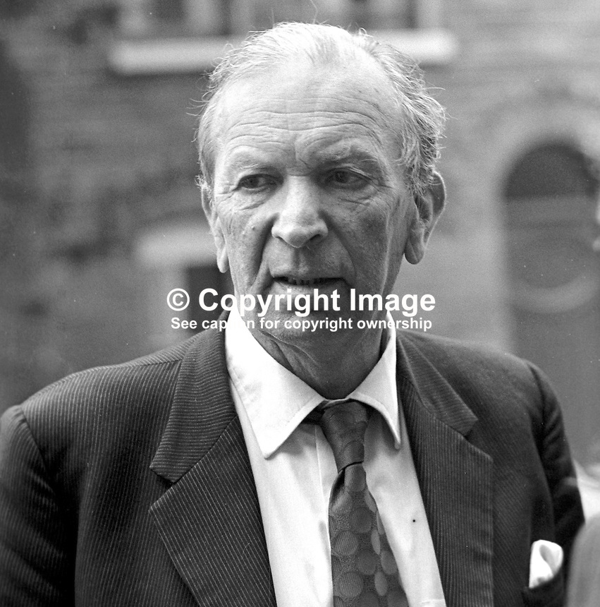Lord Donaldson, Minister of State for N Ireland, 197407310415LD2..Copyright Image from Victor Patterson, 54 Dorchester Park, Belfast, UK, BT9 6RJ..Tel: +44 28 9066 1296.Mob: +44 7802 353836.Voicemail +44 20 8816 7153.Skype: victorpattersonbelfast.Email: victorpatterson@me.com.Email: victorpatterson@ireland.com (back-up)..IMPORTANT: If you wish to use this image or any other of my images please go to www.victorpatterson.com and click on the Terms & Conditions. Then contact me by email or phone with the reference number(s) of the image(s) concerned.
