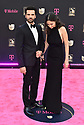 MIAMI, FL - FEBRUARY 20: Zeynep Oymak and Kaan Urgancioglu attends Univision's Premio Lo Nuestro 2020 at AmericanAirlines Arena on February 20, 2020 in Miami, Florida.  ( Photo by Johnny Louis / jlnphotography.com )
