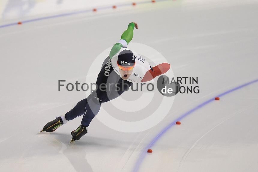 SPEEDSKATING: CALGARY: Olympic Oval, 25-02-2017, ISU World Sprint Championships, 1000m Men, David Bosa (ITA), ©photo Martin de Jong