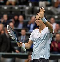 13-02-14, Netherlands,Rotterdam,Ahoy, ABNAMROWTT, Tomas Berdych(TSJ)<br /> Photo:Tennisimages/Henk Koster
