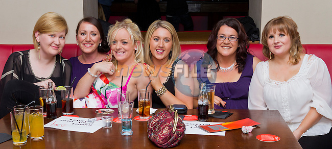 At the Ballymackenny School Reunion,(1993-1994) were Pamela Finnegan, Emma Kells, Sarah Crosby, Gillian Meade, Aoife Delahunt and Diona Brannigan..Picture: Shane Maguire / www.newsfile.ie.