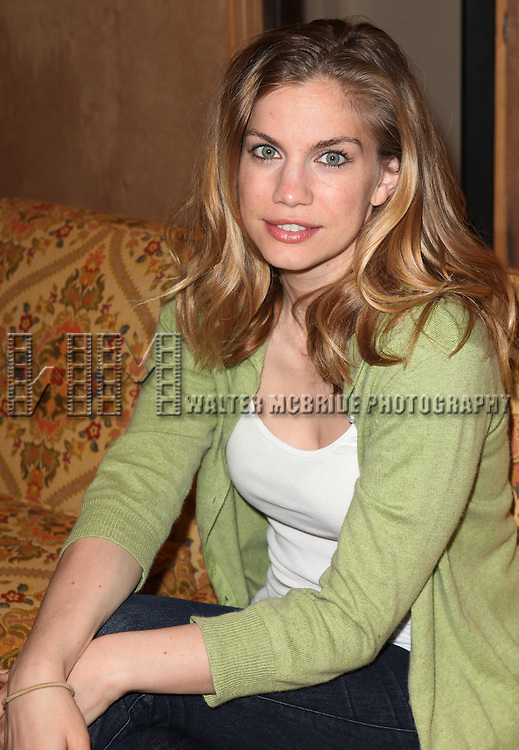 "Anna Chlumsky.attending the Meet & Greet the Cast and Creators of David Adjmi's ""3C"" at the MTC Rehearsal Studios in New York City on 5/8/2012.."