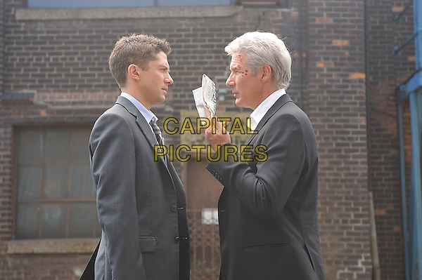 TOPHER GRACE & RICHARD GERE.in The Double.*Filmstill - Editorial Use Only*.CAP/FB.Supplied by Capital Pictures.