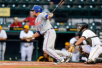 St. Lucie Mets outfielder Travis Taijeron #39 during a game against the Bradenton Marauders on April 12, 2013 at McKechnie Field in Bradenton, Florida.  St. Lucie defeated Bradenton 6-5 in 12 innings.  (Mike Janes/Four Seam Images)