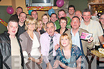 GOOD LUCK: Michael Enright, the Spa, Tralee (centre) who received a great send off in Betty's bar, Strand Street, Tralee last Saturday night from his work colleagues of Tubs and Tiles the Horan centre, Tralee as he is leaving after 10 years with the company.   Copyright Kerry's Eye 2008
