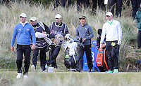 Friday 29th May 2015; A dejected Rory McIlroy walks off the 16th tee<br /> <br /> Dubai Duty Free Irish Open Golf Championship 2015, Round 2 County Down Golf Club, Co. Down. Picture credit: John Dickson / SPORTSFILE
