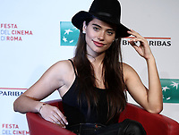 L'attrice argentina Eva De Dominici posa durante il photocall per la presentazione del film &quot;White Blood&quot; al Festival Internazionale del Film di Roma, 19 ottobre 2018.<br /> Argentinian actrees Eva De Dominici poses during the photocall of the movie &quot;White Blood&quot; during the international Rome Film Festival at Rome's Auditorium, on October 19, 2018.<br /> UPDATE IMAGES PRESS/Isabella Bonotto