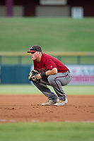 AZL Diamondbacks Jordan McArdle (45) on defense against the AZL Cubs on August 11, 2017 at Sloan Park in Mesa, Arizona. AZL Cubs defeated the AZL Diamondbacks 7-3. (Zachary Lucy/Four Seam Images)