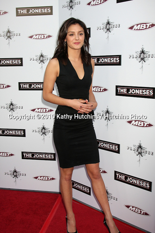 ".Christine Evangelista.arrives at ""The Joneses"" Premiere.ArcLight Theaters.Los Angeles, CA.April 7, 2010.©2010 Kathy Hutchins / Hutchins Photo..."