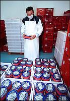 A Calvisano ( provincia di Brescia) l'Agroittica Lombarda alleva storioni Withe Sturgeon per produrre 24 tonnellate all'anno di caviale